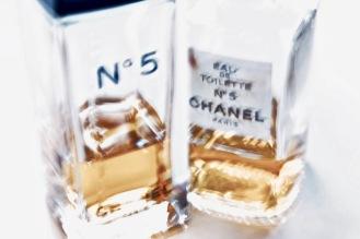 Vintage bottles Chanel Number 5