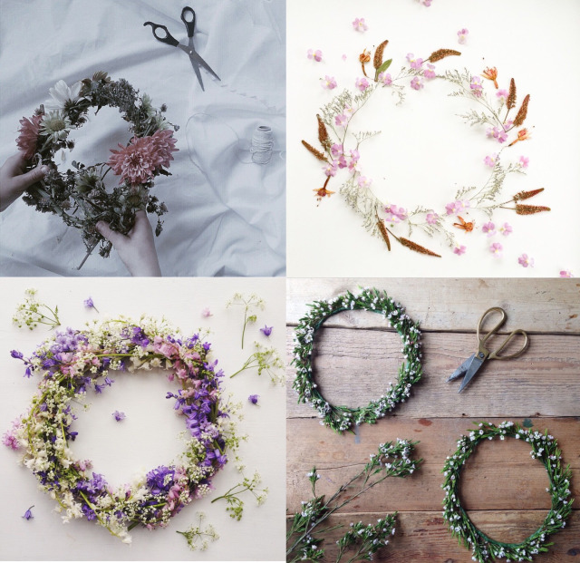 selection wreath of the month via Anastasia Benko blog