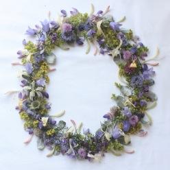midsummer wreath via anastasiabenko.com