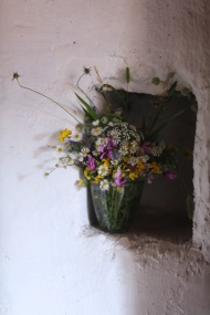 wild flower arrangement