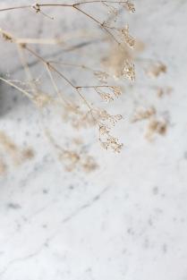 baby's breath and marble via anastasiabenko.com