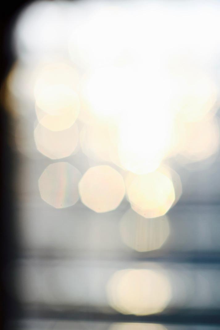 Winter light reflections - bokeh