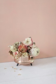 dried blush flowers via anastasiabenko.com