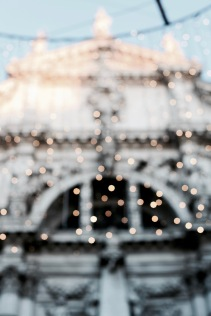 Christmas lights in Venice, Italy
