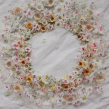 Late Spring wreath - double exposure