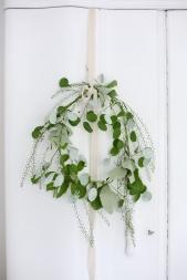 mint green wreath