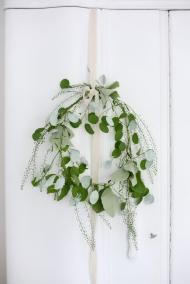 mint green wreath