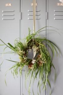 grass wreath