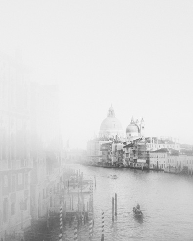 View from Ponte dell'Accademia, Grand Canale, Venice