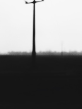 blurry landscape, southern Germany