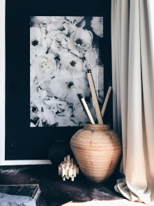 black and white gallery print
