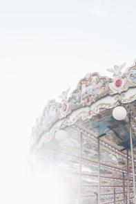 Merry go round, Paris, France
