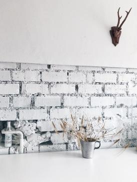 white kitchen corner - Munich, Germany
