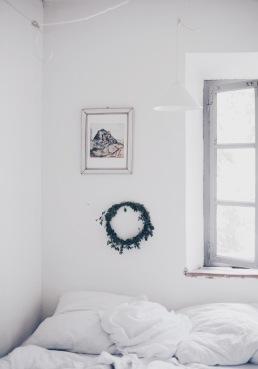 white Italian bedroom