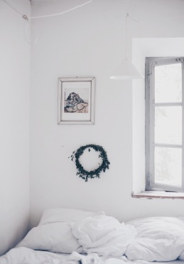 white Italian bedroom