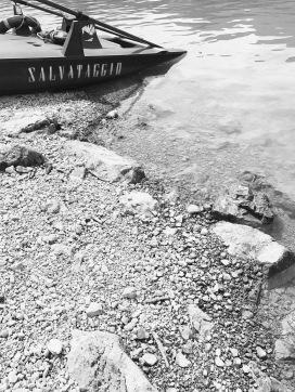 salvataggio, Lago di Tenno, Italy