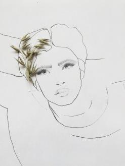 fashion illustration via anastasiabenko.com