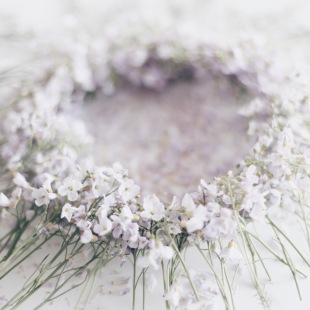 cuckoo flower wreath via anastasiabenko.com