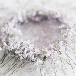 cuckoo flower wreath via anastasiabenko.com