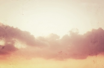 blush colored clouds via anastasiabenko.com