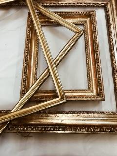 golden vintage frames