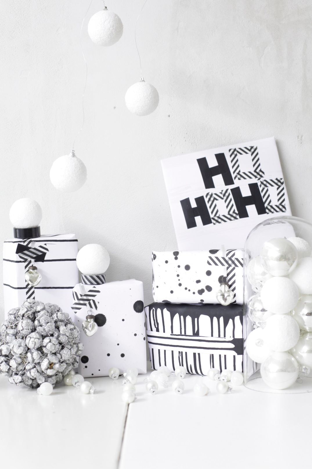 DIY Christmas paper via Anastasia Benko