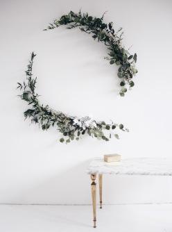 XXL Eucalyptus wreath via anastasiabenko.com