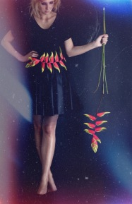 Anastasia Benko for The Green Gallery - Heliconia Muse