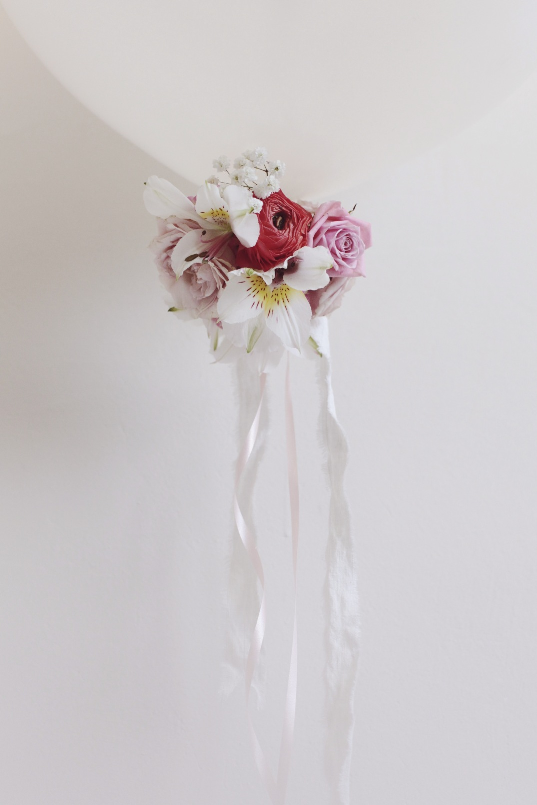 balloon boutonnières for Valentine's Day