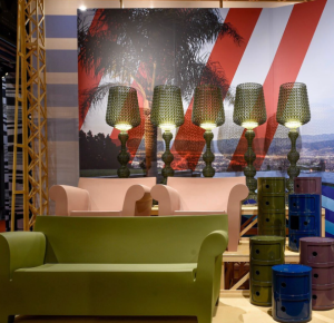 Colorful details at Kartell, copyright Kartell