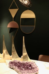 Golden geometric details - a collaboration of Gallotti & Radice with Studio Pepe