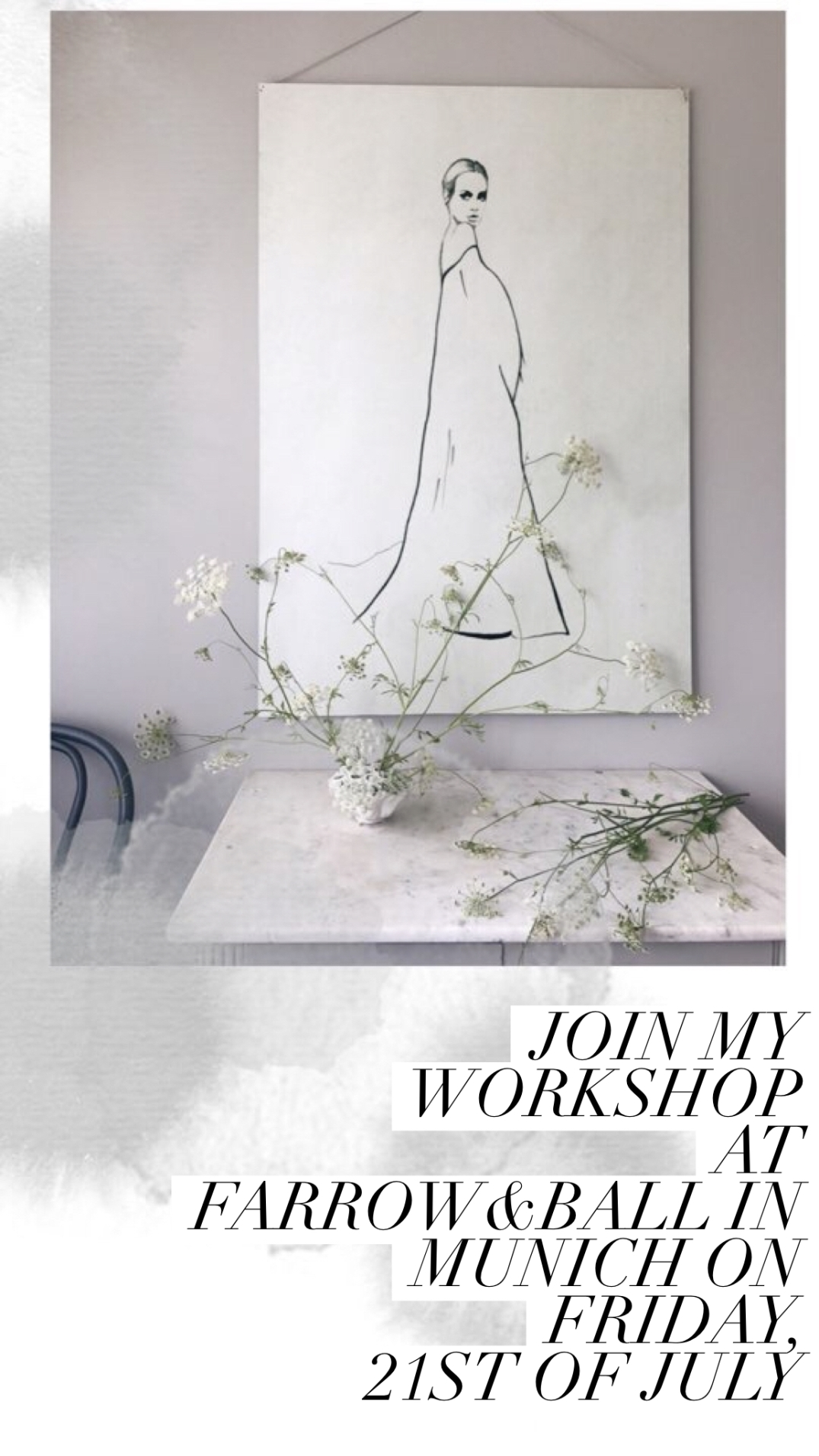 Workshop at Farrow & Ball Showroom in Munich