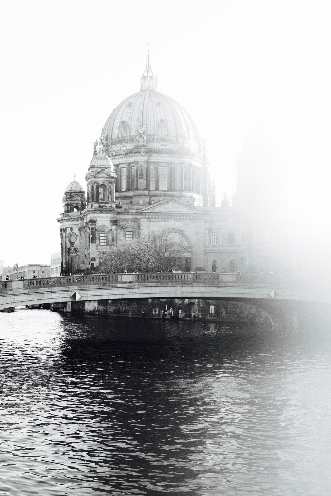 Berliner Dom, Berlin Cathedral black & white photography