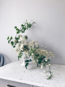 learn how to make a naturalistic floral arrangement