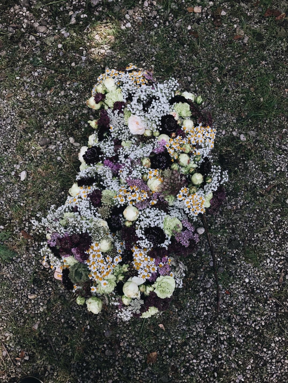 Colorful summer floral arrangements