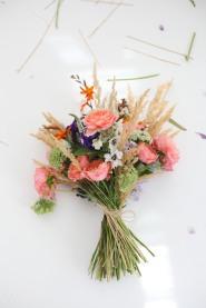 late summer flower arrangement