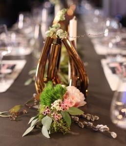 Blumendekoration Deutschlands größte Küchenparty mit Johann Lafer und den Musterhausfachgeschäften