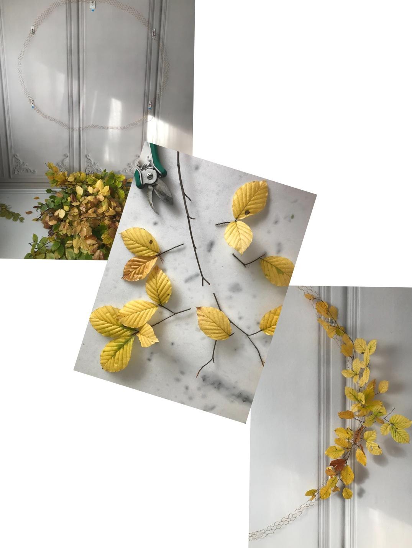 installing an XXL wreath with TESA POWERSTRIPS