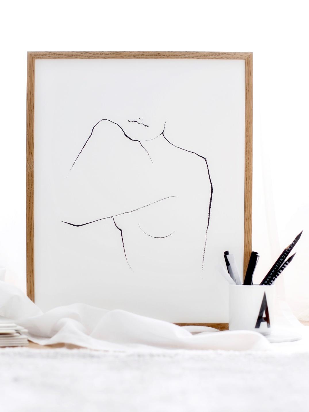 Anastasia Benko x The Poster Club - fine art prints, poster Josephine