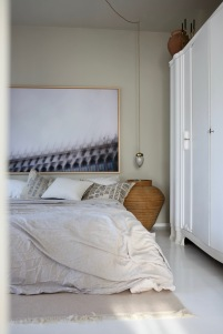 Der Blick vom Wohnzimmer ins Schlafzimmer, Homestory Anastasia Benko