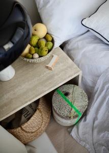 Eine beruhigende Stimmung schaffen die schönen Gerüche reifer Quitten - Homestory Anastasia Benko