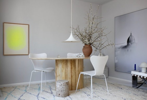 living room of interior stylist Anastasia Benko